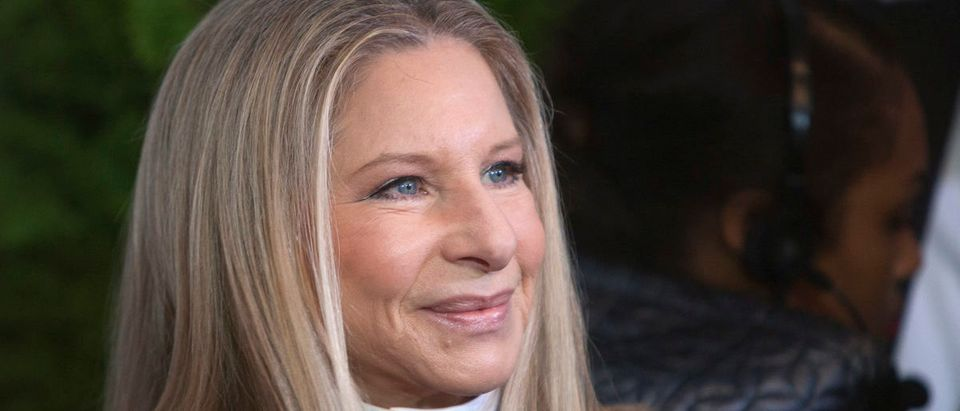 "Singer Barbra Streisand arrives for Glamour Magazine's ""Women Of The Year"" event in New York, November 11, 2013. REUTERS/Carlo Allegri"
