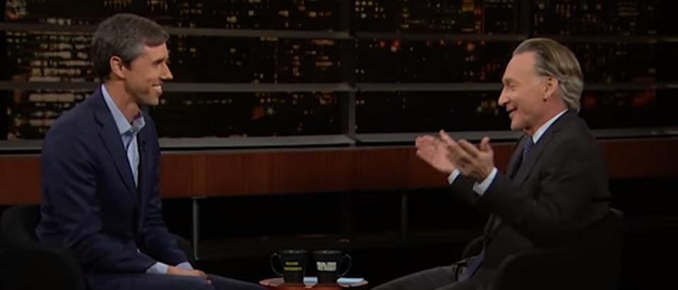 Bill Maher Beto O'Rourke (screengrab)