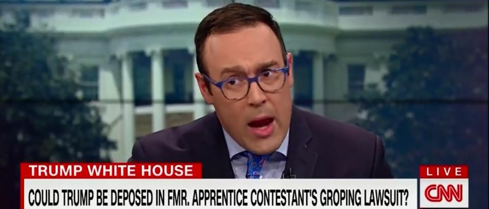 CNN's Chris Cillizza Hopes To Rattle Trump With Stormy Daniels Coverage 'It Affects How He Reacts' - CNN's New Day 3-21-18 (Screenshot/CNN)