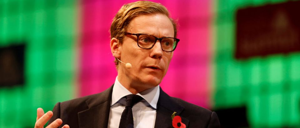 CEO of Cambridge Analytica, Alexander Nix, speaks during the Web Summit, Europe's biggest tech conference, in Lisbon, Portugal, November 9, 2017. Cambridge suspended him this weekk following the Facebook data controversy Photo:REUTERS/Pedro Nunes/File Photo | Data Firm Cambridge Analytica Overrated