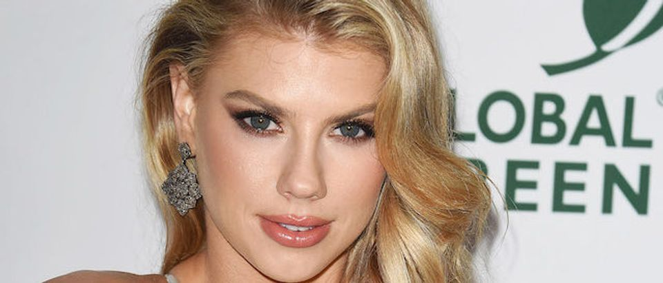 The Academy Awards: Global Green Pre-Oscars Party in Los Angeles Pictured: Charlotte McKinney Picture by: SAF / Splash News