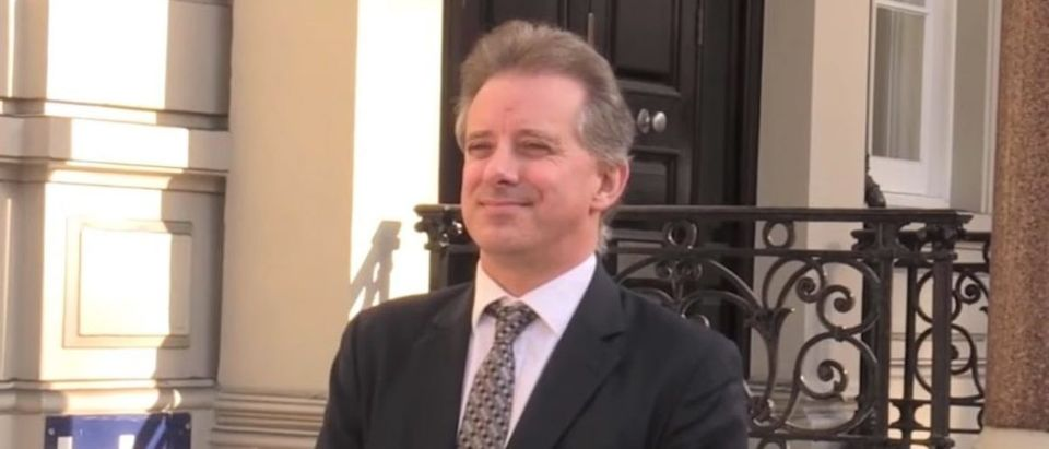 Christopher Steele is pictured. (YouTube screen capture/CBS News)