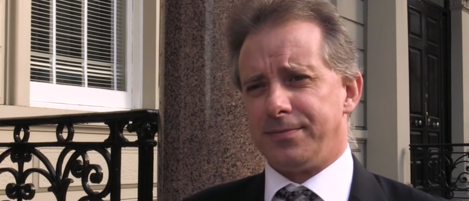 Former British spy Christopher Steele (YouTube screen capture/CBS News)