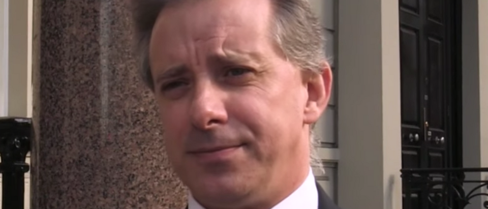 Former British spy Christopher Steele is pictured. (YouTube screen capture/CBS News)