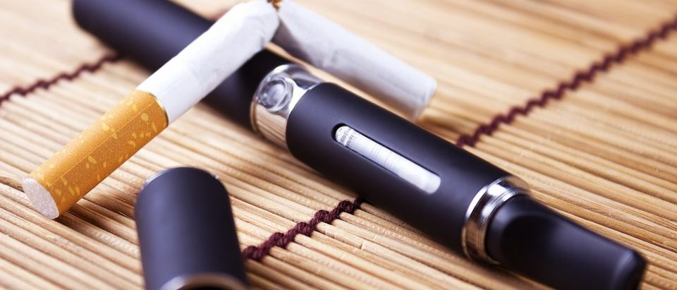 The electronic cigarette, new technology can replace the regular cigarettes. (carpe89/Shutterstock)