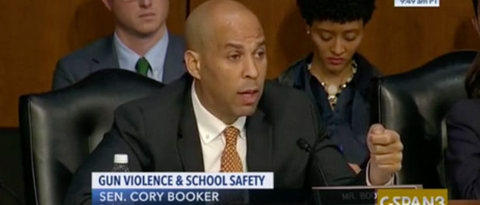 Cory Booker CSPAN3 Screenshot