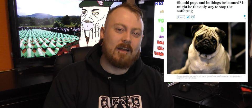 Count Dankula (Photo: Screenshot/YouTube/Count Dankula)