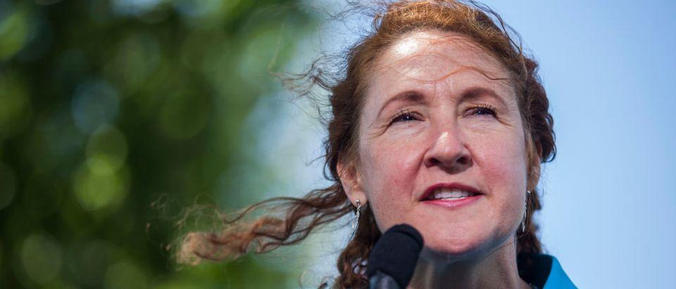 Democratic Conn. Rep. Elizabeth Esty (Photo by Zach Gibson/Getty Images)