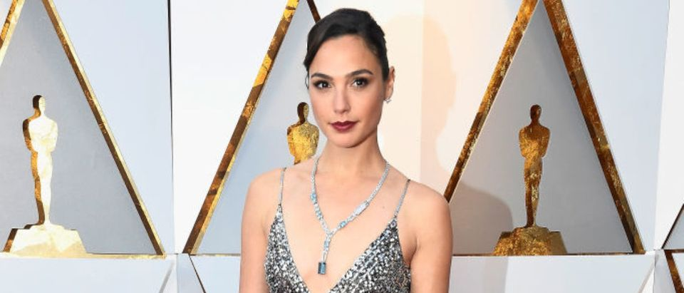 Gal Gadot attends the 90th Annual Academy Awards at Hollywood & Highland Center on March 4, 2018 in Hollywood, California. (Photo by Frazer Harrison/Getty Images)