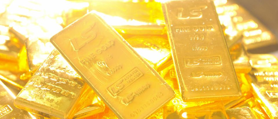 Pure 1,000-gram gold bars produced by So