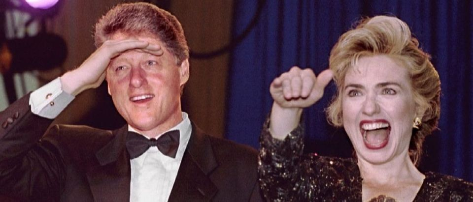 Hillary Clinton and Bill Clinton in 1993 Reuters