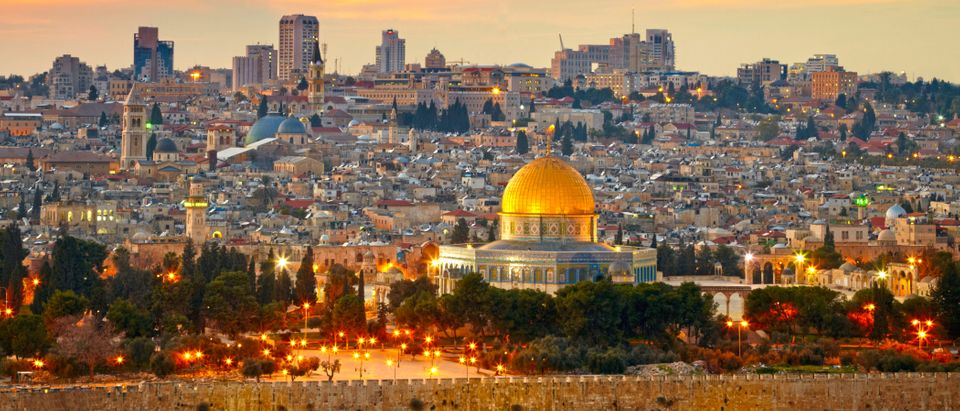 View to Jerusalem old city, Israel. (Shutterstock)