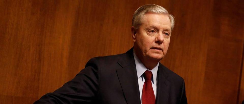 South Carolina Sen. Lindsey Graham AARON BERNSTEIN / REUTERS