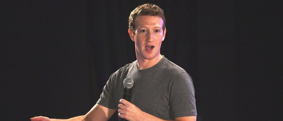 Facebook chief executive and founder Mark Zuckerberg speaks during a 'town-hall' meeting at the Indian Institute of Technology (IIT) in New Delhi on October 28, 2015. (Photo: MONEY SHARMA/AFP/Getty Images)