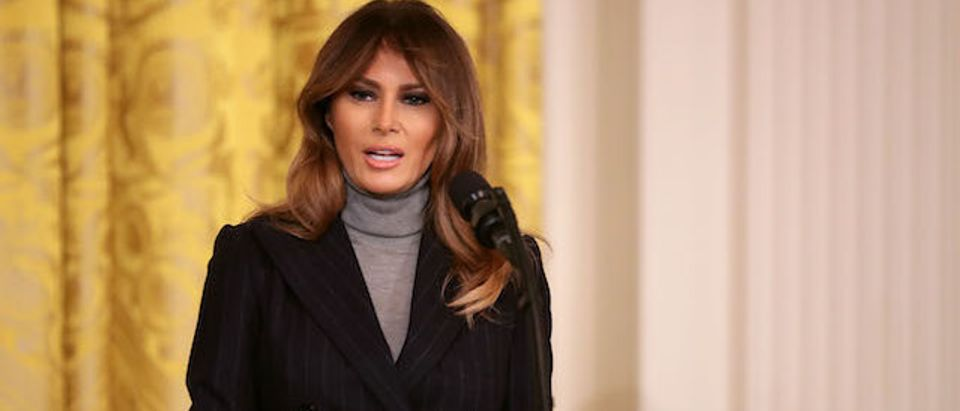 First Lady Melania Trump And White House Officials Host Opioid Summit