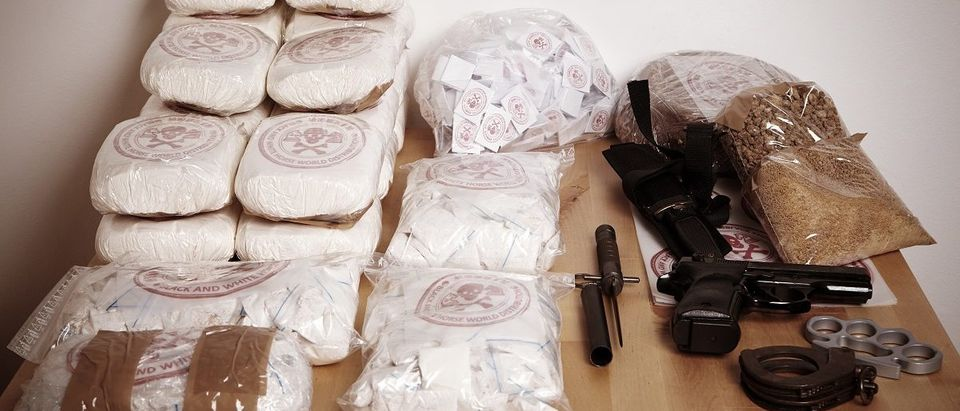 Thirty kilos of drugs seized to dealers. (Couperfield/Shutterstock)