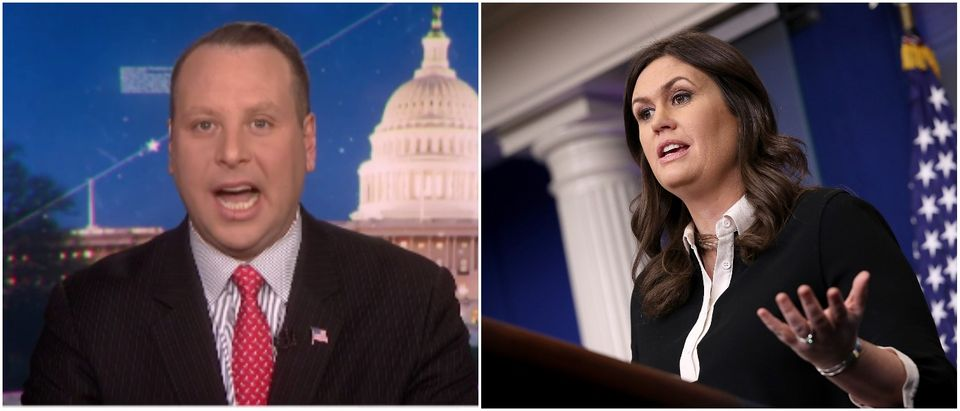 Nunberg Sanders Left: Sam Nunberg MSNBC Youtube screenshot Right: Photo by Win McNamee/Getty Images