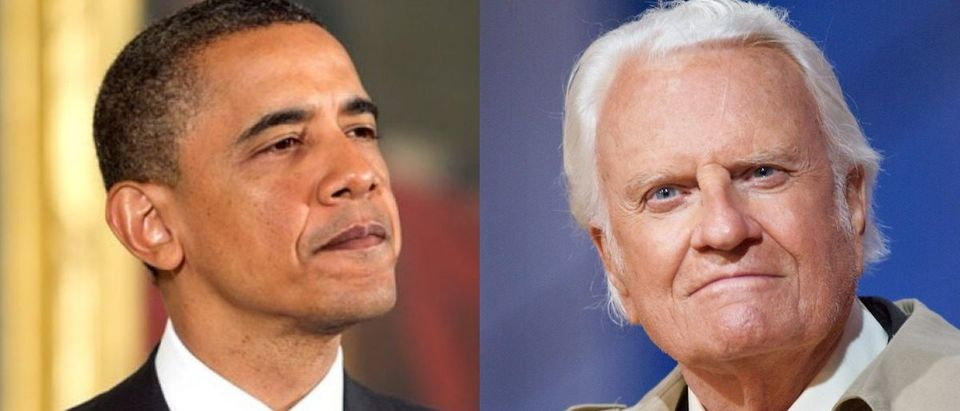 Barack Obama and Billy Graham (Getty/Mark Wilson/Alex Wong/Getty)