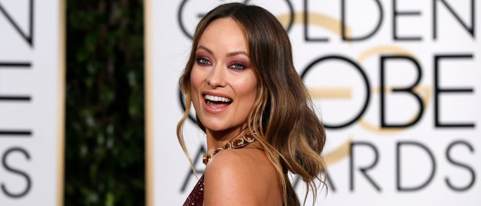 Actress Olivia Wilde arrives at the 73rd Golden Globe Awards in Beverly Hills, California January 10, 2016. (REUTERS/Mario Anzuoni)