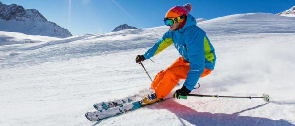 Skiing (Credit: Shutterstock)