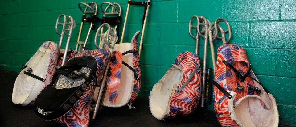 U.S. Paralympics Sled Hockey Team Leaves For Sochi