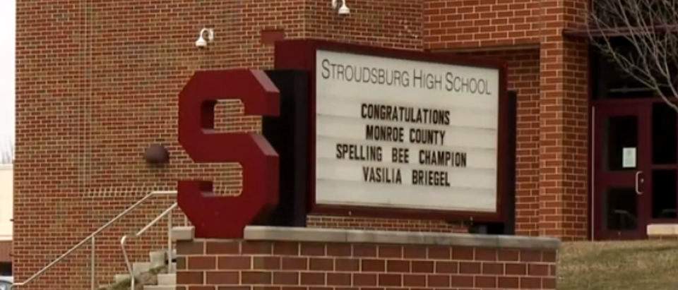 Stroudsburg High School (screengrab)