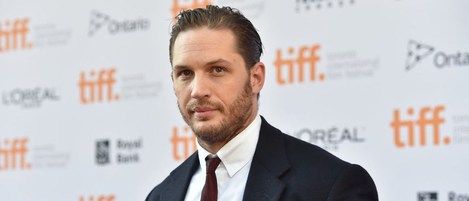 "Actor Tom Hardy attends ""The Drop"" premiere during the 2014 Toronto International Film Festival at Princess of Wales Theatre on September 5, 2014 in Toronto, Canada. (Photo by Alberto E. Rodriguez/Getty Images)"