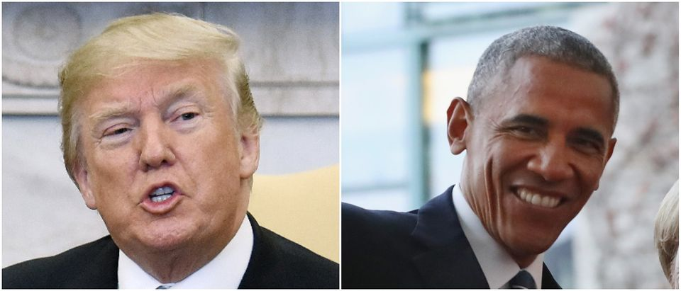 Trump Obama NK Photo by Sean Gallup/Getty Images Photo by Olivier Douliery-Pool/Getty Images