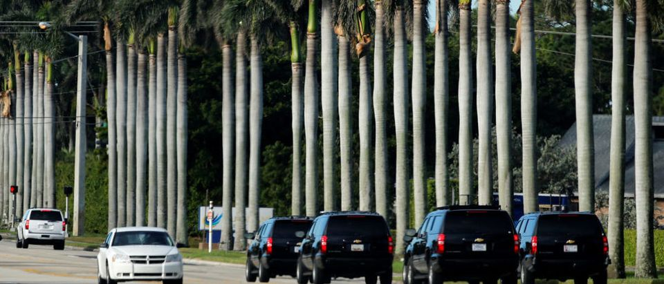 Trump spends his holiday vacation in West Palm Beach, Florida