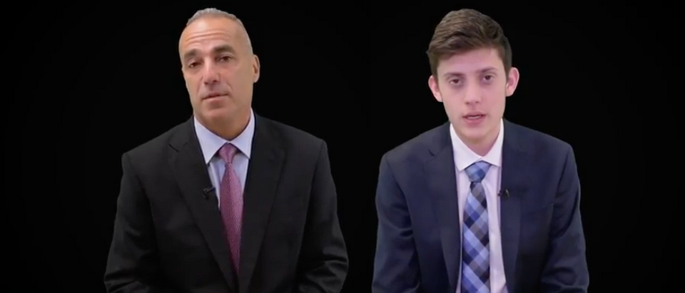 Andrew Pollack, Kyle Kashuv (The Daily Caller)