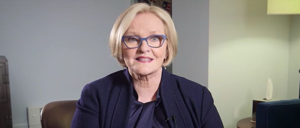 Clair McCaskill (Video Screen Shot - Late Show With Stephen Colbert)
