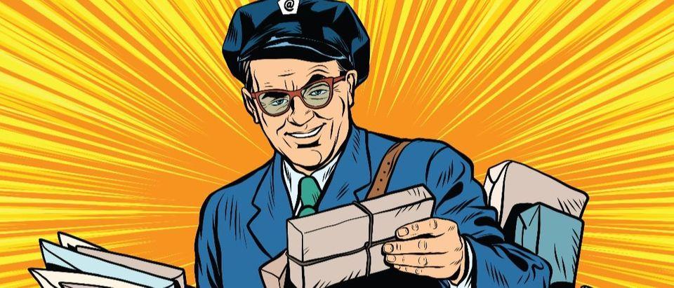 postman Shutterstock/studiostoks
