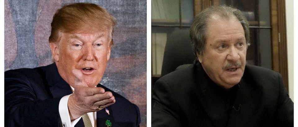 Donald Trump, Joe diGenova (Getty Images/The Daily Caller)