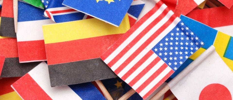world flags Shutterstock/kbuconi