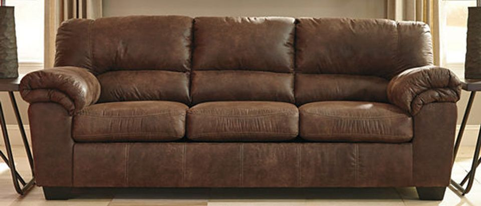 Normally $1200, this sofa is 72 percent off with the code (Photo via JCPenney)
