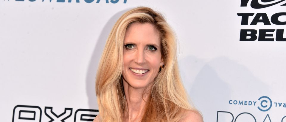 LOS ANGELES, CA - AUGUST 27: Political commentator, author Ann Coulter attends The Comedy Central Roast of Rob Lowe at Sony Studios on August 27, 2016 in Los Angeles, California. (Photo by Alberto E. Rodriguez/Getty Images)