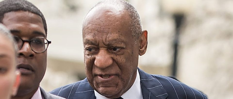 Bill Cosby is seen during the third day of his sexual assault retrial in Norristown, PA