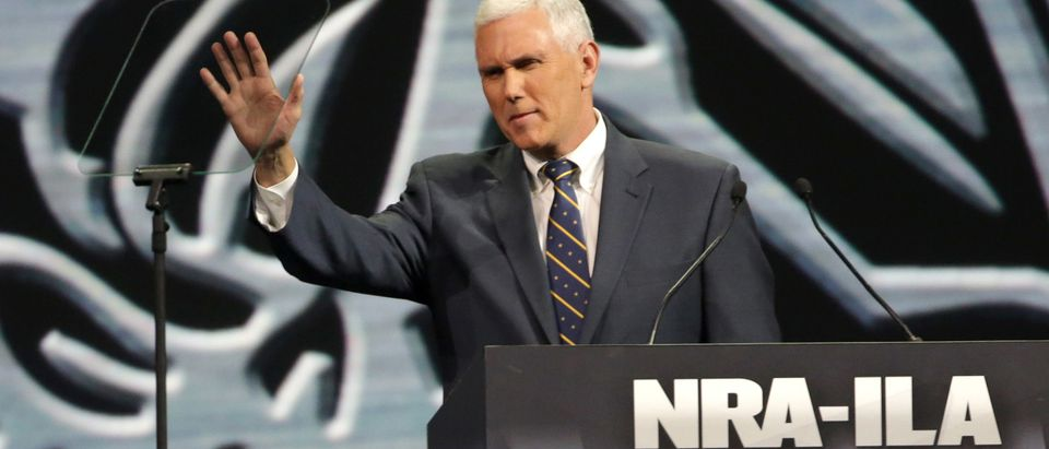 NRA Convenes For Annual Meeting In Indianapolis
