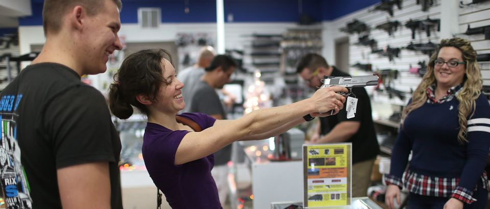 Holiday Gun Sales Soar In U.S.