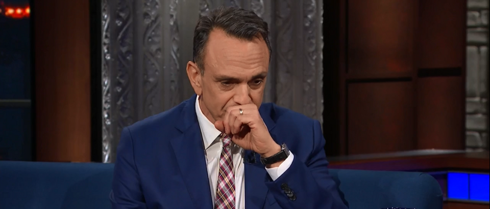 Hank Azaria CBS Late Show With Stephen Colbert 4-25-18