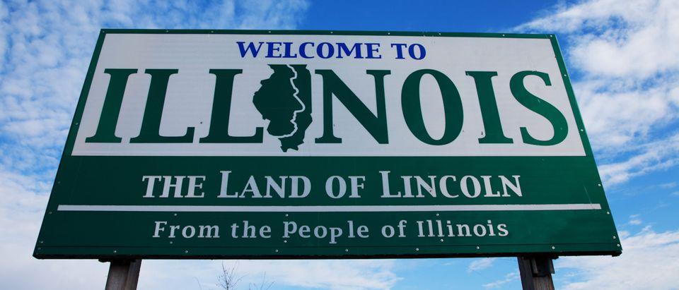 """""""Welcome to Illinois"""""""", Alton, IL. (Shutterstock)"""