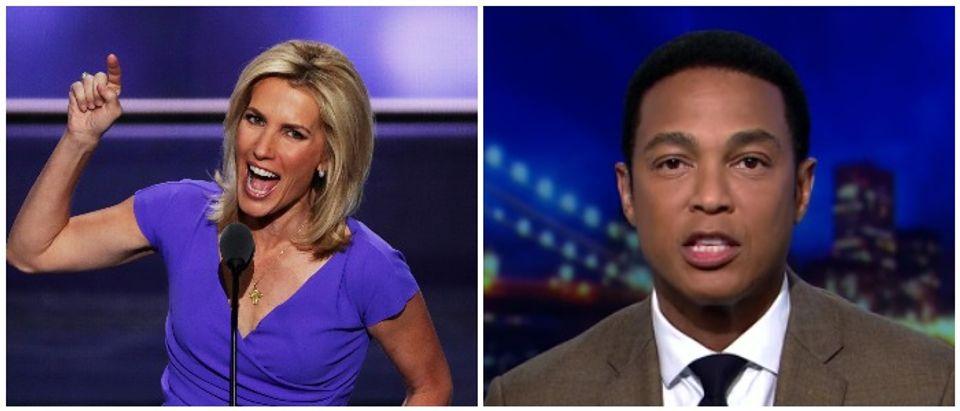 Ingraham Don Lemon Left: Alex Wong/Getty Images Right: CNN Youtube screenshot