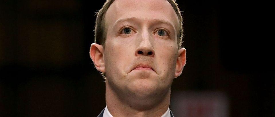Mark Zuckerberg testifies in Congress. Getty Images/Chip Somodevilla