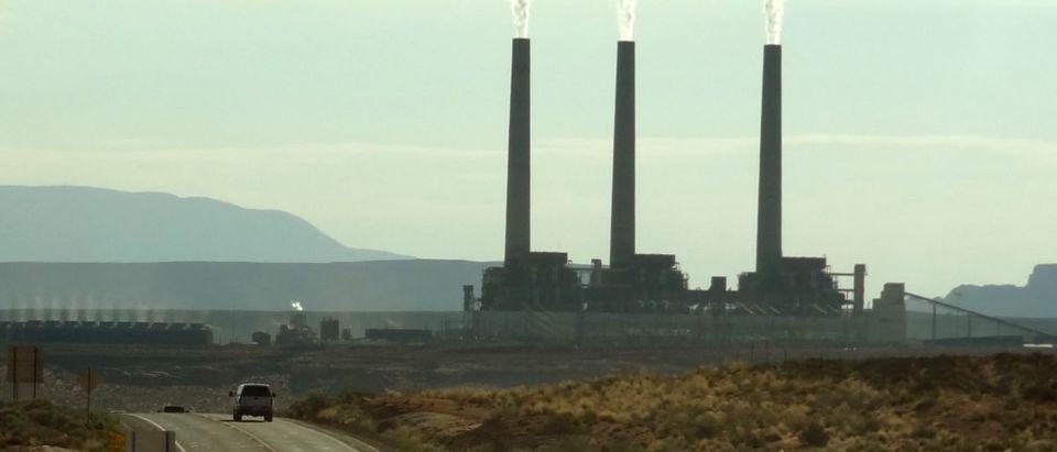 View of the Navajo power generating station near Page, Arizona August 12, 2012. REUTERS/Charles Platiau