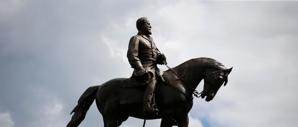 The statue of Confederate General Robert E. Lee in Richmond, Virginia, U.S., September 16, 2017. REUTERS/Joshua Roberts