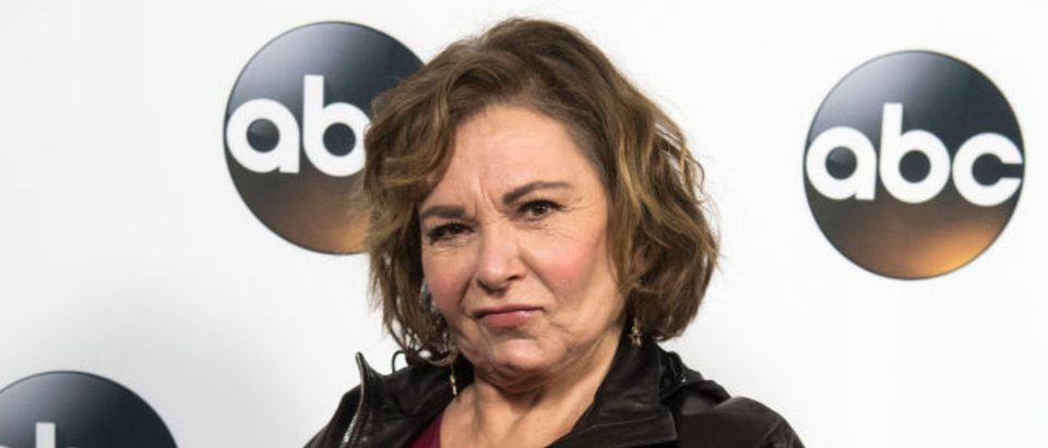 Actress Roseanne Barr attends the Disney ABC Television TCA Winter Press Tour on January 8, 2018, in Pasadena, California. (Photo: VALERIE MACON/AFP/Getty Images)