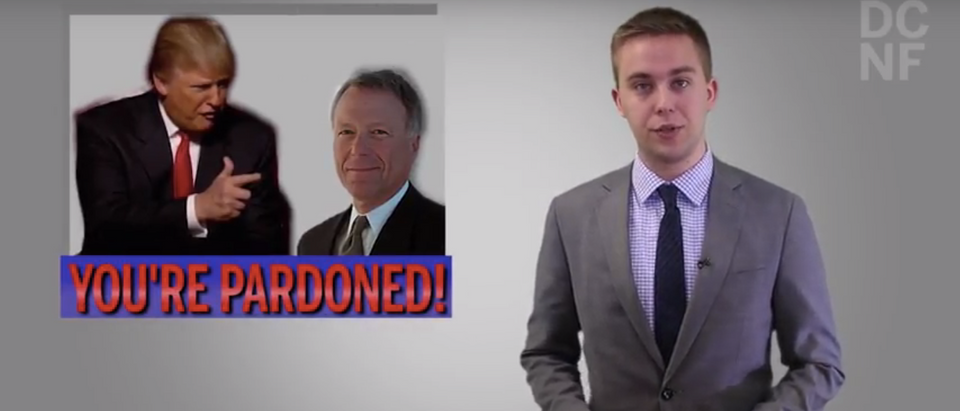 Trump pardons Scooter Libby (Screenshot/YouTube/The Daily CAller News Foundation) | Trump's Scooter Libby Pardon Is Good