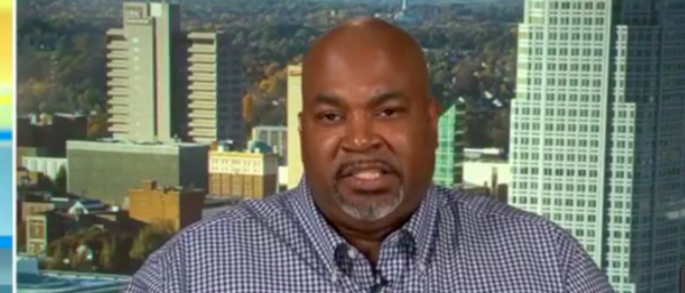 "It's far past time for politicians to start paying attention to the ""silent middle"" and stop overlooking them, a black gun advocate said during a Friday news segment. (Photo: Mark Robinson/Fox & Friends Screenshot)"