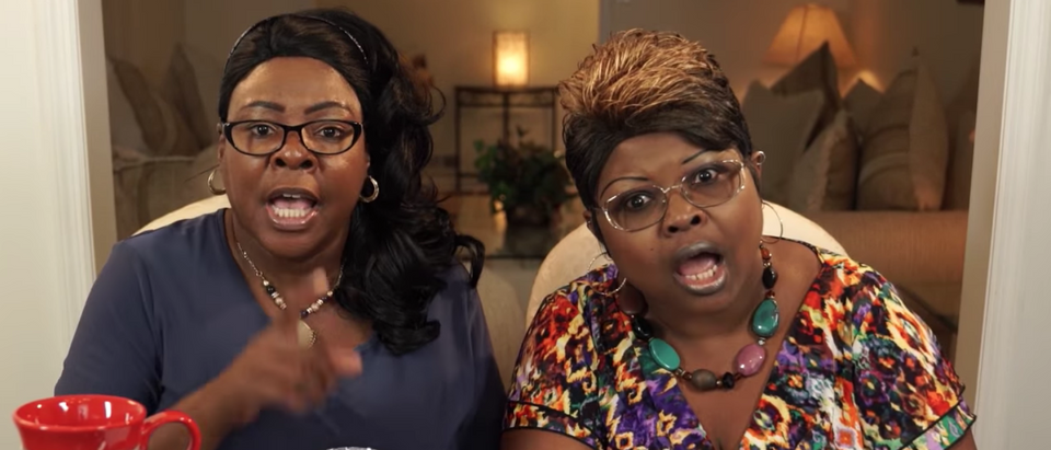 "Facebook reportedly banned two highly popular conservative women from Facebook last week, arguing that their content is ""unsafe to the community.""[YouTube/Screenshot/Public - User: Diamond and Silk - The Viewers View]"