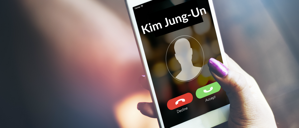 Incoming call from Kim Jung-Un (Shutterstock)